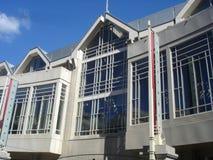现代大厦的门面 库存照片