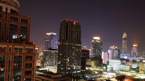 现代大厦视图在Ratchaprasong区的 图库摄影
