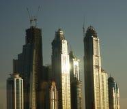 现代大厦,迪拜,阿拉伯联合酋长国 免版税库存图片