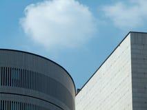现代大厦 免版税库存照片