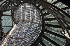 现代太阳结构 免版税库存照片