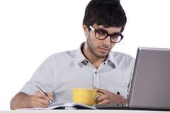 现代学员年轻人 免版税库存图片