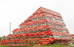 现代学术的大厦 免版税库存图片