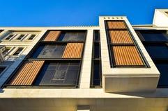 现代安置的公寓和细节 免版税库存照片