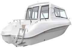 现代客舱小船 免版税图库摄影