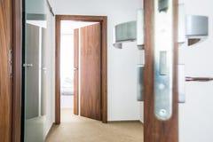 现代室内设计建筑学股票图象 库存图片