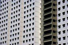 现代密度高的住房 图库摄影