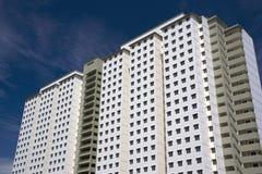 现代密度高的住房 免版税图库摄影