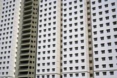 现代密度高的住房 免版税库存图片