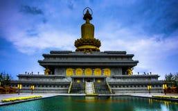 现代寺庙 免版税库存照片