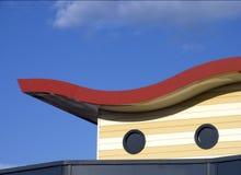 现代屋顶 库存图片