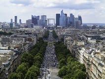 现代巴黎 图库摄影