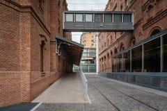现代建筑学公共建筑 免版税库存照片