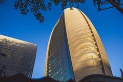 现代建筑学在北京,中国 库存照片