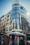 现代建筑学在贝尔格莱德 库存照片