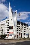 现代建筑学大厦在弗罗茨瓦夫 库存照片