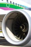 现代引擎的喷气机 免版税库存图片