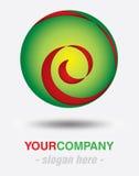 现代徽标设计 免版税图库摄影