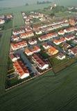 现代房子在乡下 免版税图库摄影