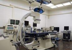 现代手术室 免版税库存图片
