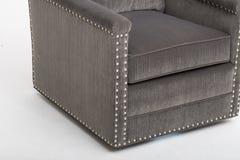 现代扶手椅子唯一沙发位子家庭客厅或卧室- ImageLarge餐具柜汉普郡大餐具柜,坚实餐具柜&L 库存照片