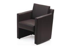 现代扶手椅子的图象 免版税库存图片