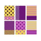 现代抽象五颜六色的无缝的样式 免版税库存照片