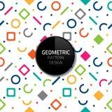 现代抽象几何样式模板传染媒介无缝的背景设计eps 10 免版税库存照片