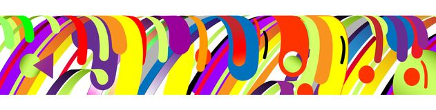现代抽象框架元素,构成由在颜色的各种各样的圆形做成 也corel凹道例证向量 库存图片