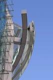 现代抽象的大厦 免版税库存照片