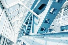现代抽象的建筑 库存照片