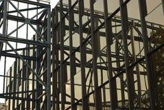 现代抽象的结构 库存图片