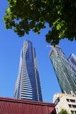 现代摩天大楼,墨尔本,澳大利亚 免版税库存图片