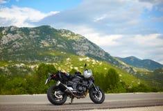 现代摩托车 免版税图库摄影