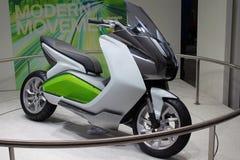 现代摩托车 免版税库存图片