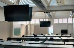 现代教室 免版税库存图片