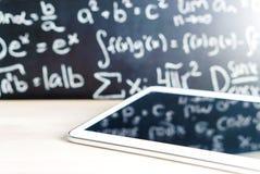 现代教育和电子教学概念 免版税库存照片