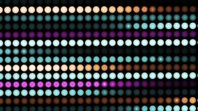 现代数字小点运动抽象五颜六色的行动背景  影视素材