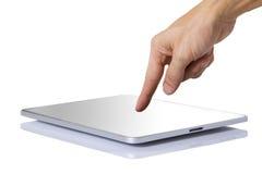现代数字式片剂个人计算机。 免版税图库摄影
