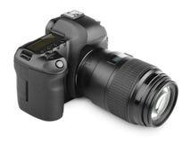 现代数字式SLR照相机 库存照片