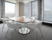 现代新的办公室 免版税库存图片