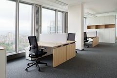 现代新的办公室 库存照片
