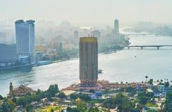 现代旅馆在开罗,埃及 免版税库存照片