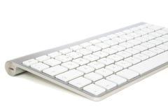 现代无线计算机键盘 免版税库存图片
