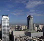现代曼谷的大厦 免版税库存照片