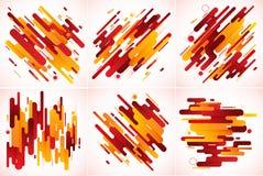 现代条纹抽象背景 免版税图库摄影