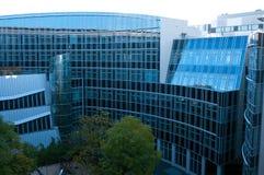 现代柏林的大厦 免版税库存照片