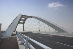 现代桥梁 免版税图库摄影