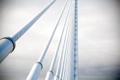 现代桥梁 免版税库存图片