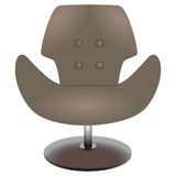 现代椅子 免版税库存照片